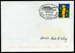 36970) BRD - Ganzsache USo 20 I - SoST 23966 WISMAR, MECKL Vom 28.08.2003 - Tag Der Briefmarke, Dornier Do X - [7] Federal Republic