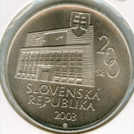 Slovaquie Slovakia 200 Korun 2003 100 Ans De Imrich Karvas UNC KM 65 - Eslovaquia