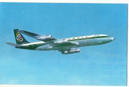 AVIATION    AVION      OLYMPIC AIRWAYS   BOEING  707 320  SUPER FAN JET - 1946-....: Moderne