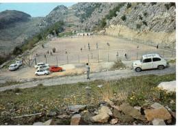 Lazio-roma- Bellegra Veduta Stadio Campo Sportivo Partita Calcio In Corso - Calcio