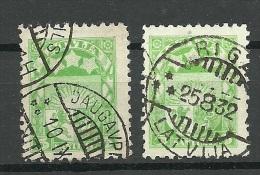 LETTLAND Latvia 1929 Michel 172 Y + Z O - Lettland