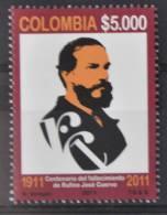 C 296 ++ COLOMBIA 2011 RUFINO JOSE CUERVO  MNH ** - Colombia