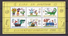 Nederland 2000  Kind En Avontuur - Periode 1980-... (Beatrix)