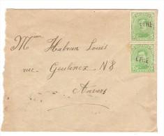 TP 137(2) S/L.annulée Par La Griffe De Fortune Ethe V.Anvers PR2575 - Postmark Collection