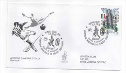 Busta Primo Giorno - Juventus Campione D'italia 2004-2005 - F.D.C.