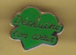 48195-Pin's.L'association Déchaîne Ton Coeur Intervient à Madagascar.medical. - Associazioni