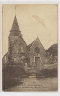 Cailleville    L'Eglise Et Le Monument Aux Morts De 1914-1918 - Autres Communes