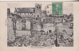 VILLE-en-TARDENOIS - La Mairie   Sello Tax 10 Centimes Chiffre   2 Scan - Otros Municipios