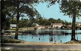 - Indre Et Loire - Ref A223 - Chateau La Valliere - Le Lac Et La Baignade - Carte Bon Etat - - Altri Comuni