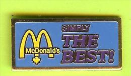 Pin Mac Do McDonald´s Simply The Best Bleu - 6B09 - McDonald's