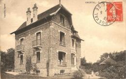 ORGEVAL VILLA LA CHAUSSEE EN 1912 - Orgeval