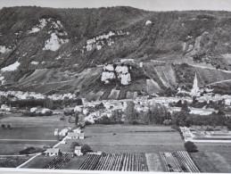 PHOTO AÉRIENNE PÉDAGOGIQUE LAPIE 1953/58  - N° 5:  AIN - SAINT SORLIN LE CONTACT DU JURA AVEC LA VALLÉE DU RHONE - Reproductions