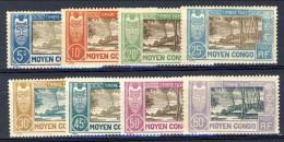 Congo 1930 Timbre Taxe Serietta N. 12 - 19 *MLH Catalogo € 40 - Unclassified