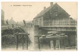 Stavele : Pont De L'Yser ( 2 Scans) - Belgium