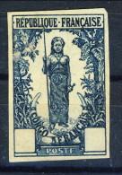 Congo 1900-04 Prova Di Colore Della Femme Bakaloi Prima Serie Congo N. 33-38 MNG Non Dentellato Catalogo Dallay € 100 - Unclassified