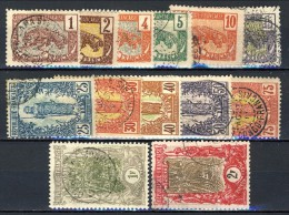 Congo 1900-04 Serietta N. 27-40 USATI Catalogo € 90 - Unclassified