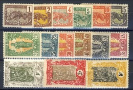 Congo 1900-04 Serie Completa N. 27-41 * MLH (n. 39 Usato) Catalogo € 250 - Unclassified