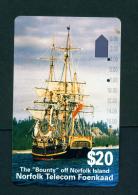 NORFOLK ISLAND - Magnetic Phonecard Used - Norfolk Island