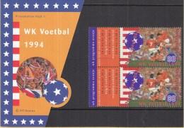 Nederland -  Presentatie Pakket Nummer 1 - WK Voetbal 1994 - Verenigde Staten - NVPH 1614 - World Cup