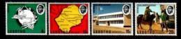 LESOTHO, 1974, Mint Never Hinged Stamp(s) U.P.U. Centenary,  MI Nrs. 166-169, #2626 - Lesotho (1966-...)
