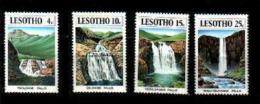 LESOTHO, 1978 Mint Never Hinged Stamp(s) Waterfalls,  MI Nrs. 256-259, #2643 - Lesotho (1966-...)