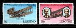 LESOTHO, 1978 Mint Never Hinged Stamp(s) Wright Brothers,  MI Nrs. 260-261, #2644 - Lesotho (1966-...)