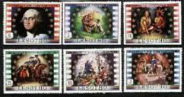 LESOTHO, 1982, Mint Never Hinged Stamp(s), George Washington,  MI Nrs. 386-391, #2662 - Lesotho (1966-...)