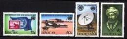 LESOTHO, 1985, Mint Never Hinged Stamp(s), 40 Years U.N.O.,  MI Nrs. 536-539, #2683 - Lesotho (1966-...)