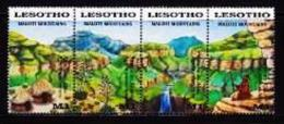 LESOTHO, 1989, Mint Never Hinged Stamp(s), MalotiMountains,  MI Nrs. 782-785, #2718 - Lesotho (1966-...)
