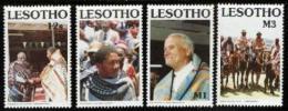 LESOTHO, 1990, Mint Never Hinged Stamp(s), Basutho Blanket,  MI Nrs. 847-850,, #2724 - Lesotho (1966-...)