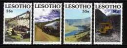 LESOTHO, 1990, Mint Never Hinged Stamp(s), Dam Project,  MI Nrs. 852-855,, #2725 - Lesotho (1966-...)