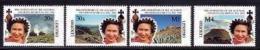 LESOTHO, 1992, Mint Never Hinged Stamp(s), Elizabeth II,Anniversary   MI Nrs. 965-968, #2737 - Lesotho (1966-...)