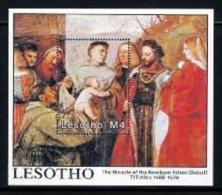 LESOTHO, 1988, Mint Never Hinged Stamp(s), Newborn Enfant, MI Nrs. Block 54, F1754 - Lesotho (1966-...)