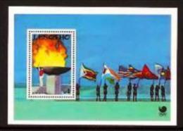 LESOTHO, 1988, Mint Never Hinged Stamp(s), Disney, MI Nrs. Block 55, F1755 - Lesotho (1966-...)