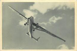 AVIATION  Avion Hurel Dubois  Photo Format Cp   2 Scans - 1946-....: Moderne