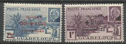 GUADELOUPE N� 173 et 174 NEUF** LUXE SANS  CHARNIERE / MNH