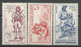 GUADELOUPE N� 158 � 160 NEUF** LUXE SANS  CHARNIERE / MNH