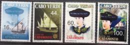 Cabo Verde 2007 - Navegadores Luis De Cadamosto Boot Boat Ship Bateau Schiff 4 Val. MNH - Cape Verde