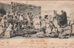 Tunisie  - Marché Arabe  - Scan Recto-verso