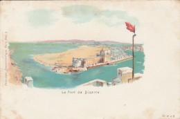 Tunisie  - Le Port De Bizerte - Scan Recto-verso