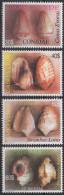 Cabo Verde 2005 - Shells Coquillages Meeresschneckengehäuse Mi. 872 - 875   4 Val. MNH - Cap Vert