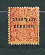 Colonie Timbres De Nouvelles Hébrides De 1908  N°3 Et 4 Neuf * Cote 25€ - Leggenda Inglese