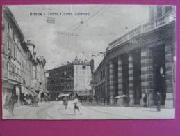 CPA Brescia / Lombardia (Italia) - Teatro E Corso Zanardelli - Brescia