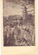 BÖHMEN & MÄHREN - WIESENTHAL A. D. Neiße / LUCANY NAD NISOU, Bramberg Baude, Künstler-Karte - Böhmen Und Mähren