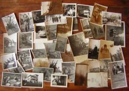 Lot De 40 Photos Anciennes Dans Une Pochette Guillemot Dinox... - Albums & Collections