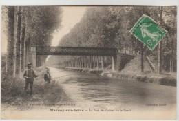 CPA MARNAY SUR MARNE (Haute Marne) - Le Pont Des Ouitres Sur Le Canal - Autres Communes