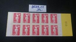 Carnet  N° 2629-C1 Neuf ** à 20% De La Cote  TTB - Usage Courant