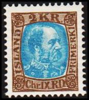 1904. King Christian IX. 2 Kr. Brown/greenblue. Only 30.000 Issued. (Michel: 46) - JF191408 - Oblitérés