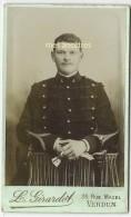 CDVmilitaire Du 4e Régiment Nommé René DESSEIN-photo Girardot Rue Mazel à Verdun - War, Military