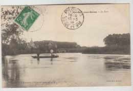 CPA MARNAY SUR MARNE (Haute Marne) - Le Pont - Autres Communes